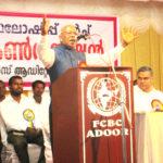 Inauguration: Pr. Samuelkutty Mathai (President, FFC)